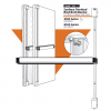 3100 Series Surface Vertical Rod Exit device