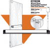3900 Series Concealed Vertical Rod Exit device
