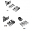 Ball Latches 1712, 1714 and 1716