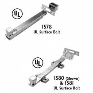 Don-Jo - Surface Bolts 1578, 1580 and 1581
