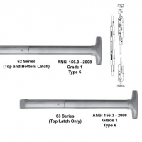 62/63 Series Concealed Vertical Rod Exit Device