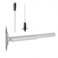 3348A-F and 3548A-F Fire Exit Concealed Vertical Rod Device